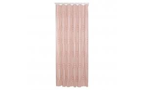 Shower curtain PEVA 180x200 cm Brave, Dark Pink