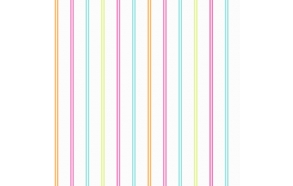 Hoopla Multi Stripe SidewallPink