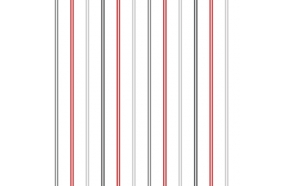 Hoopla Multi Stripe SidewallRed