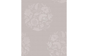 Floral Motif , Taupe