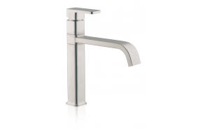 SINGLE LEVER SINK MIXER STAINLESS STEEL
