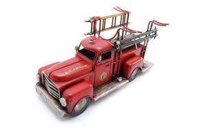 Wine rach Fire engine, 37x19x20cm