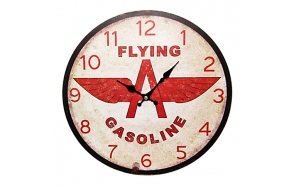 Wall clock Gasoline 33.8x33.8x3.5cm