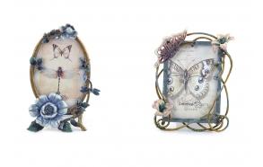 "4"" x 6"" & 3-1/2"" x 5"" Fairy Garden Tin Frame, 2 Styles"