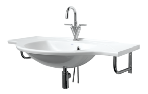 Cast stone basin BETA 100cm, no brackets