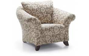 armchair BOSTON, fabric RIMINI beige