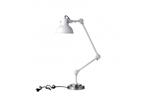 Table/Floor lamp 3 links, retro white