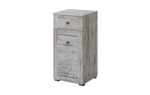 low cabinet Provence (1D1S)