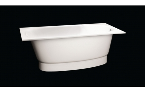 Cast stone bath UNA, no panel and siphon