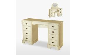 Nine Drawer Dressing Table