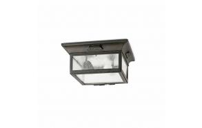 ASTI CEILING LAMP 2L E27 60W, METAL+GLASS