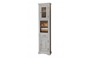 tall cabinet Romantic (2D1S)