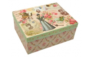 Paper box Manor lady, size 2, 24x19x10cm
