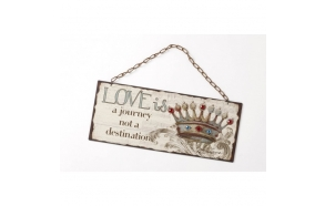 LOVE IS A JOURNEY SIGN