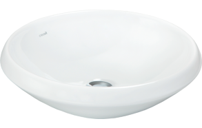 45 CM TOP COUNTER W.BASIN WHITE