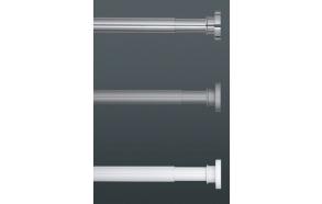 Dušikardinatoru, diam 28 mm, 125-220cm, kroom