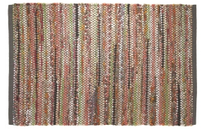 MADRAS bathmat, 60x90cm, multicoloured