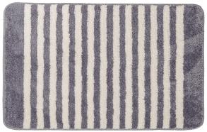 STRISCE bathmat, grey, 50x80cm