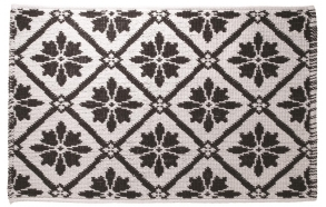 PATTERN bathmat, white, 50x80cm