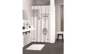 SAVON DE PROVENCE shower curtain textile 180x200,