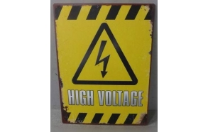 "sign ""high voltage"""