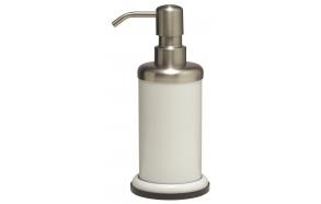 ACERO metal  soap dispencer, white