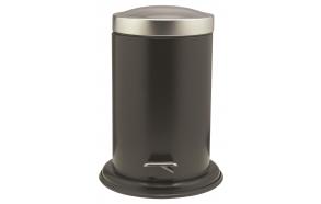 ACERO metal  pedal bin 3L, black