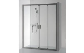 Shower screen SVAJA PLUS , clear glass