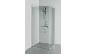 Shower enclosure VICTORIA , clear glass