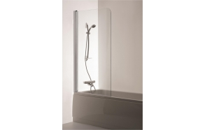 Shower screen  MAJA , clear glass