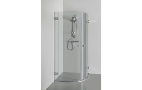 Shower enclosure JULIA , clear glass