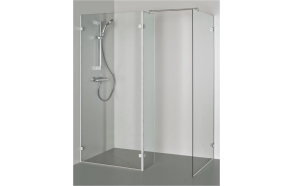 Shower enclosure BONA , clear glass