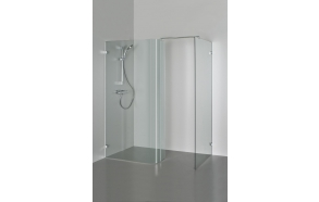 Shower enclosure LISA , clear glass