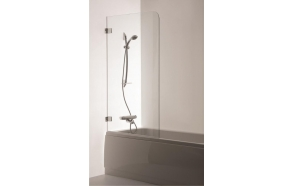 bath screen GAJA , clear glass