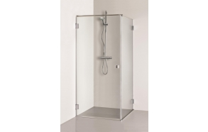 Shower enclosure MORTA , clear glass