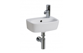 STYLE washbasin 36 cm with t/h whit