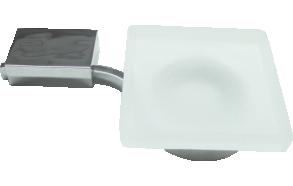 NAVA -SOAP DISPENSER DISH - GLASS