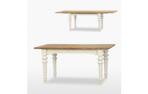 Extending Siena dining table 2 leaves