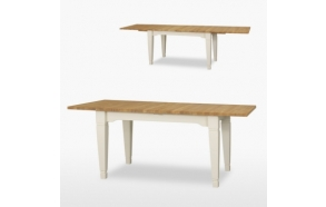 Extending Verona dining table 2 leaves