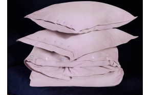 Duvet cover Angel Pink 140x200 cm, 100% cotton percale