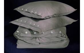 Pillow case Taupe 50x60 cm, 100% cotton percale