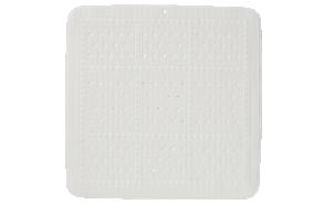 UNILUX showermat, white, 55x55 cm