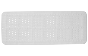 UNILUX bathmat, white, 90x36 cm