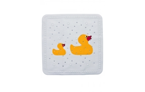 DUCKLING showermat, yellow, 55x55cm
