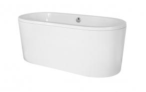 freestanding bath 185 cm (275 l)