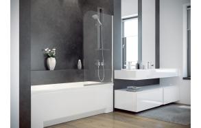 bath screen 75x130 cm
