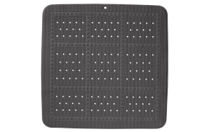 UNILUX shower mat, antracit, 55x55cm