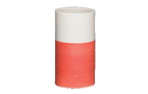 punane tops DOPPIO, käsitsi valmistatud keraamika