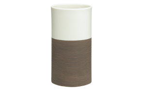 DOPPIO tumbler, brown,, hand made ceramics