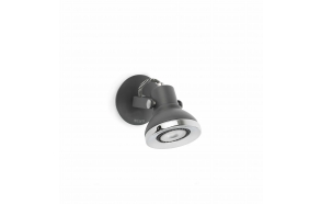RING LED hall seinavalgusti ,1 x GU10 LED,metall